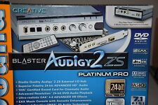 Creativ Sound Blaster Audigy 2 ZS Platinum Pro Internal Audio Card SB0360 SB0290