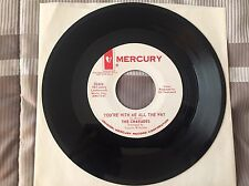 """CHARADES """"You're with Me All the Way' / 'Power of Love"""" Promo MERCURY 72414 NM-"""