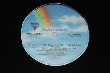 "The Communards~Never Can Say Goodbye b/w Tomorrow~12"" Single~Synth Pop~FAST SHIP"