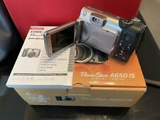 Canon PowerShot A650 IS 12.1 MP Digital Camera. Ships Today!🚚 Box Included