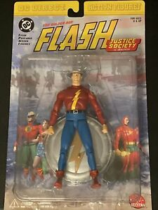 DC Direct Justice Society of America The Golden Age Flash Action Figure - Sealed