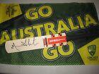 Michael Slater (Australia) signed Gray Nicolls Kaboom Mini Cricket Bat + COA
