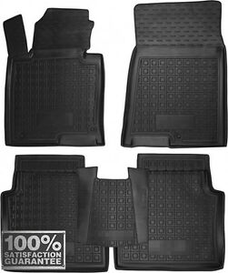 Rubber Carmats for Kia Optima IV 2016- All Weather Floor Tailored Mats