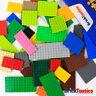 LEGO PARTS - X55 PC'S PLATES PACK BULK CREATIVITY - COLOUR MIX! - 500G Excellent