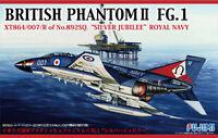 1:72 Scale Fujimi British Phantom II FG1 Silver Jubilee Fighter Plane Model Kit