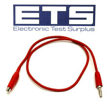 """Replacement 24"""" Alligator Clip - Banana Plug Test Lead Cable"""