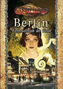 Cthulhu: Berlin - Welthauptstadt der Sünde – Quellen-/Abenteuerband Vorzugsausg.