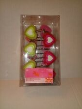 """Target Corp""- Heart Shaped Shower Curtain Hooks/set of12!"