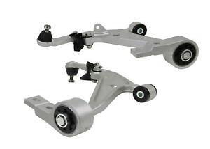 Whiteline Control Arm Kit Front Lower WA420 fits Nissan X-Trail 2.5 4x4 (T30)