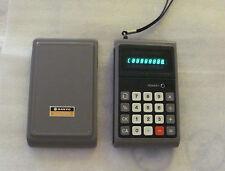Vintage Japan 70's SANYO CX-8014 VFD Calculator