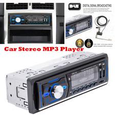1Din DAB Digital Audio Car Stereo Bluetooth MP3 Player USB SD AUX AM/FM Radio