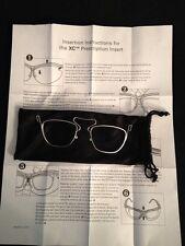 NEW XC Prescription Insert Rx Carrier Safety Glasses Insert