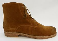 Patricia Nash Womens Shoes Serano Lace Up Low Heel Ankle Boot Booties Tan 8M
