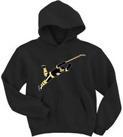 "Bobby Orr Boston Bruins Stanley Cup ""The Dive"" HOODIE HOODED SWEATSHIRT"