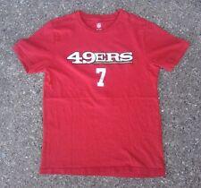 San Francisco 49ers #7 Kaepernick NFL Football Shirt ~ Youth Small S ~ Red Colin