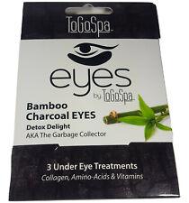 Bamboo Charcoal Eyes ToGoSpa Detox Collagen 3 Under Eye Gel Pads Treatments