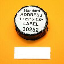 4 Rolls Address Labels Fit Dymo 30252 Usa Seller Amp Bpa Free