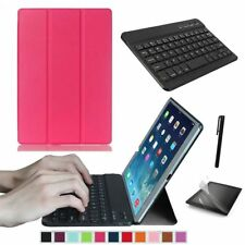 """Slim Smart Cover Case Stand for Samsung Galaxy Tab a 10.1"""" T580 / T585 Tablet PC Rose Pink"""