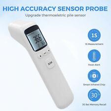 Digital LCD Fieber Stirnthermometer Infrarot Kontaktloses Baby Erwachsene DHL