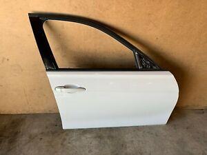 BMW F30 FRONT RIGHT PASSENGER SIDE DOOR SHELL ASSEMBLY WHITE ALPINE 300 OEM 86MK