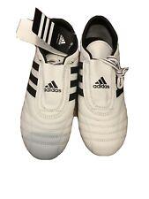 Adidas Men's Adi-Sm Ii Taekwondo Leather Sneaker Shoes Size 10 Black/White