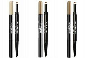 MAYBELLINE Brow Satin Duo Eyebrow Pencil & Filling Powder  - various shades