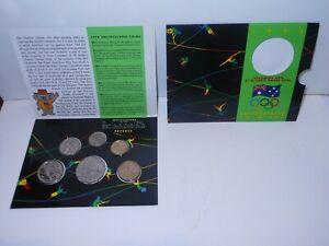 1992 Australian Uncirculated Mint Coin sets Olympiad Barcelona set