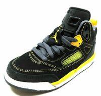 Nike Air Jordan Spizike PS 317700 050 Boys Shoes Black Leather Basketball Retro