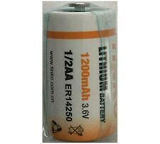 1 x ER14250 LS14250 Half AA, 1/2AA, 3.6v 1.2Ah IMAC Primary Lithium Battery