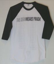 "The Devil Wears Prada ""Dead Throne 2011 Tour"" Vintage Raglan T-Shirt S ADTR"