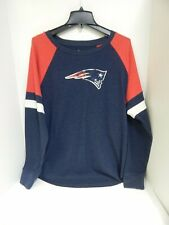 New England Patriots WOMENS Thermal Shirt Navy Touch Sample-Curve 2X