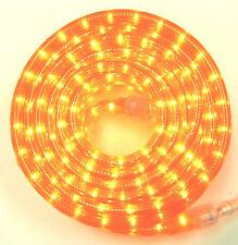 "Orange Rope Light 30Ft 110V 120V 2-Wire 1/2"" Incandescent Bulbs Flexilight"