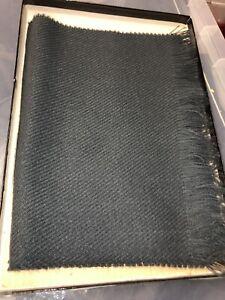 Grey mens scarf - new & boxed