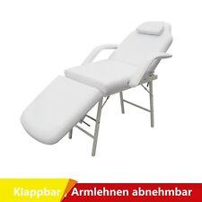 Kosmetikliege Behandlungsliege Kosmetikstuhl Massageliege Massagebank 186cm O5T9