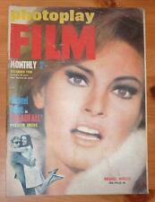 PHOTOPLAY MAGAZINE DEC 1968 RAQUEL WELCH FRONT COVER