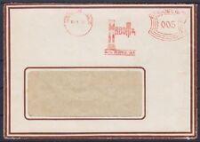 DR 5 Pf. AFS Berlin Raboma Maschinenfabrik Radial Bohrmaschinen Brief 1930