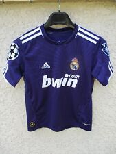 Maillot REAL MADRID camiseta shirt ADIDAS Champions League 2011 violet 10 ans