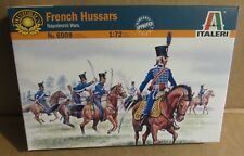 ITALERI FRENCH HUSSARS NAPOLEONIC WARS 1:72 SCALE MODEL SOLDIERS HORSES