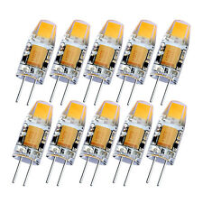 10x/4x/1x G4 LED COB Ampoule Lampe AC DC 12V 2W Crystal Lampe Blanc chaud/froid