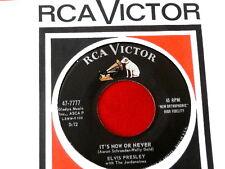ELVIS PRESLEY~SAM COOKE~ MEGA RARE MISPRINT~ CHAIN GANG~IT'S NOW ~ ROCKABILLY 45