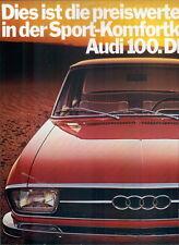 Audi-100-71-Reklame-Werbung-genuine Advert-La publicité-nl-Versandhandel
