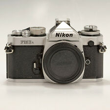 Nikon FM3A 35mm SLR Film Camera Body Only Chrome