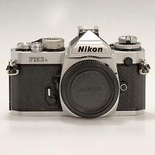 Nikon FM3A 35 mm SLR Film Camera Body Only Chrome