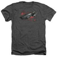 Battlestar Galactica New Series GALACTICA Adult Heather T-Shirt All Sizes