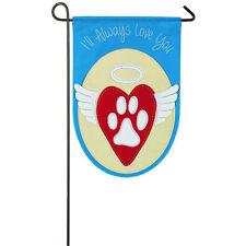 I Will Always Love You Decorative Garden Flag