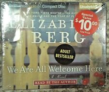 NEW - We Are All Welcome Here by Elizabeth Berg (2007,Unabridged,5 CD'S)
