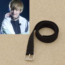 Kpop BTS V Necklace Charm Black Wide Choker Long Chain Women Men Jewelry
