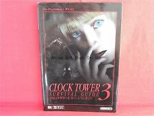Clock Tower 3 Survival Guide Book / PS2