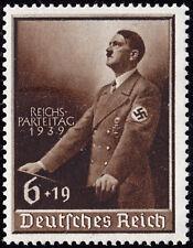 Deutsches Reich 701 ** Beabsichtigter Reichsparteitag Nürnberg 1939, postfrisch