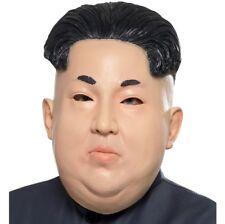 Hombre DICTATOR Máscara de Disfraz Kim Jong Cabeza Completa Máscara de látex